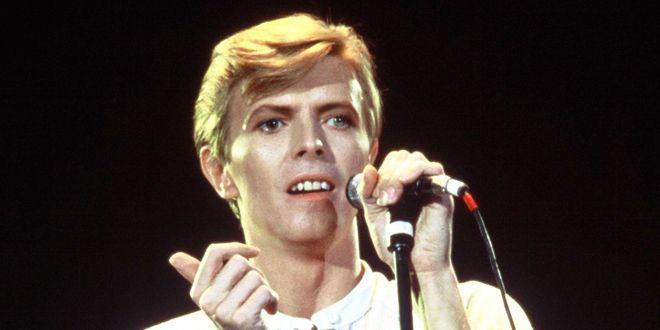 Bowie au Zénith de Paris pour tournée Young Americans en 1979.  (VILLARD/SIPA)