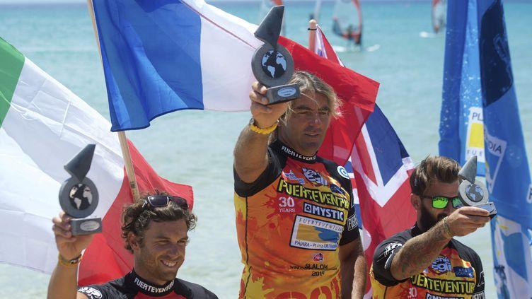 Antoine Albeau est encore au-dessus du lot, même à 43 ans! (CARLOS DE SA? / EFE)