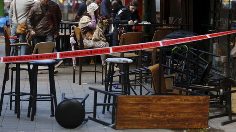 (Le 1er janvier, la fusillade avait fait deux morts et cinq blessés © Reuters/Nir Elias)