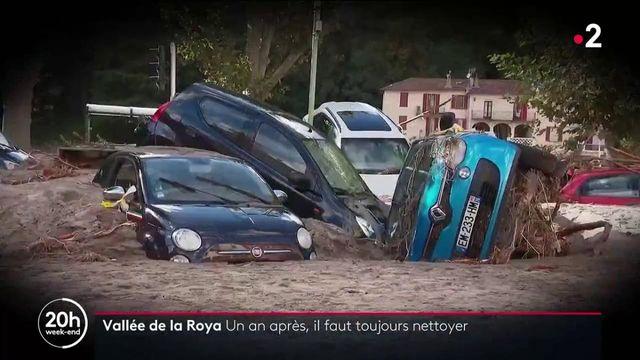 Vallée de la Roya : un an après la tempête Alex, on nettoie toujours les dégâts