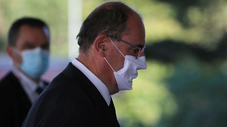 Le Premier ministre JeanCastex, à Nice le 3 octobre (photo d'illustration). (VALERY HACHE / AFP)