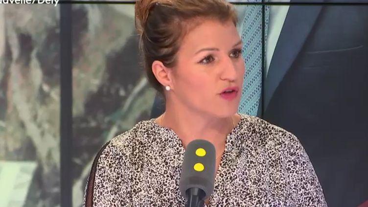 Marlène Schiappa, secrétaire d'État chargée de l'égalité entre les femmes et les hommes, invitée de franceinfo le 29 août 2018. (RADIO FRANCE / FRANCE INFO)