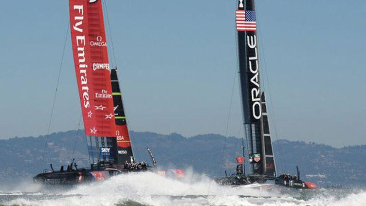 Oracle et Team New Zealand ne se font pas de cadeaux