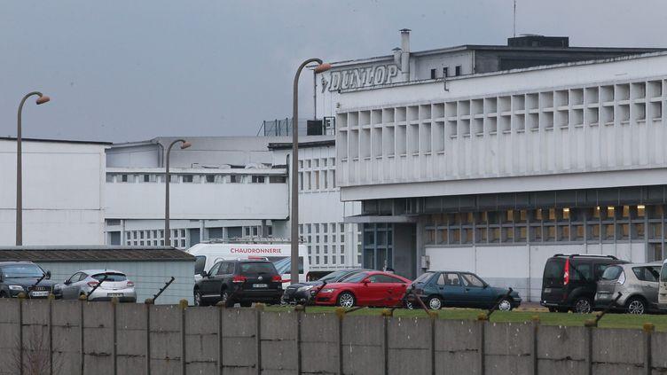 L'usine Dunlop d'Amiens, le 19 janvier 2015. (FRED HASLIN / MAXPPP)