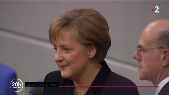 Allemagne : retour sur la carrière politique d'Angela Merkel