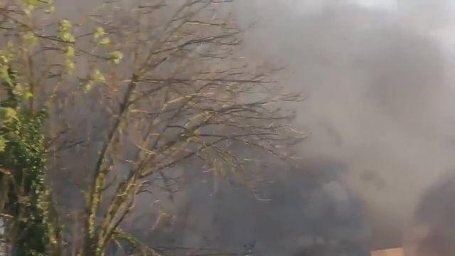 VIDEO. Des explosions sur un site industriel de Bassens