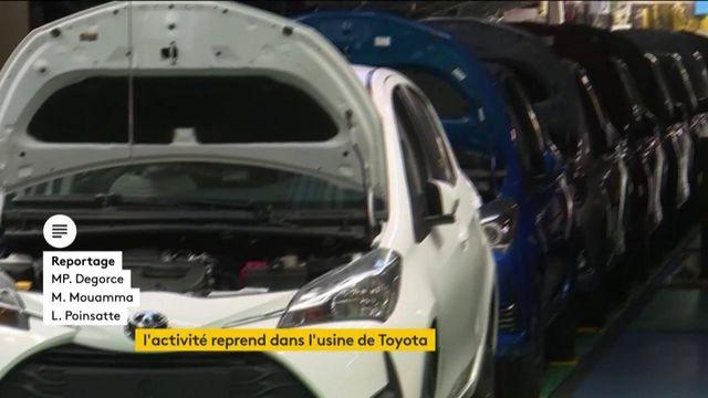Coronavirus: Toyota rouvre son usine dans le Nord