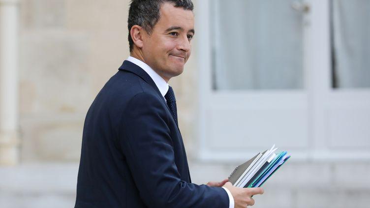 Le ministre de l'Action et des Comptes publics, Gérald Darmanin, le 19 septembre 2018 à Paris. (LUDOVIC MARIN / AFP)