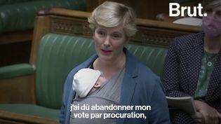 VIDEO. Une députée britannique dénonce les inégalités des nouvelles mères au travail (BRUT)