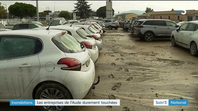 Inondations : les entreprises de l'Aude durement touchées