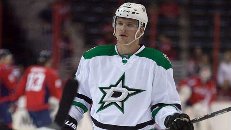 Le hockeyeur français des Dallas Stars, Antoine Roussel