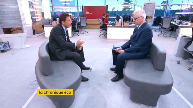 """Invité de Jean-Paul Chapel dans """":L'éco"""", mercredi 6 septembre, Geoffroy Roux de Bézieux, vice-président délégué du MEDEF, explique pourquoi avec la réforme du code du travail, le gouvernement va dans le bon sens."""