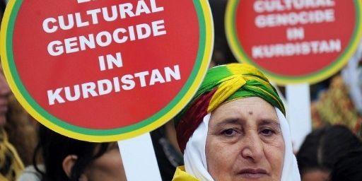 Manifestation favorable au PKK à Strasbourg en 2012 (FREDERICK FLORIN / AFP)