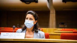L'ancienne ministre de la Santé, Agnès Buzyn, le 23 septembre 2020 à l'Assemblée nationale. (XOSE BOUZAS / HANS LUCAS / AFP)