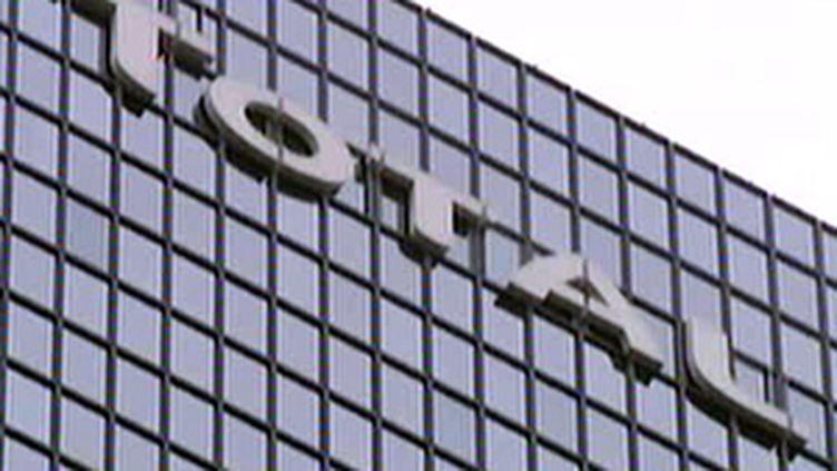 Vue du siège de Total à La Défense (France 2)