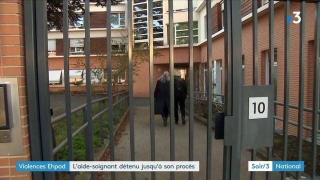 Violences dans un Ehpad du Val-de-Marne : l'aide-soignant détenu jusqu'à son procès