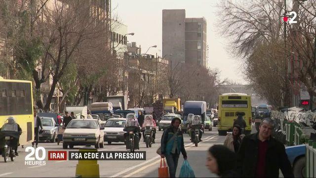 Iran : PSA cède à la pression de Washington