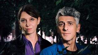 """Roxanne Moreil (scénario) et Cyril Pedrosa (dessin), auteurs de la BD multi-primée """"L'âge d'or"""".  (Cholé Vollmer-Lo)"""