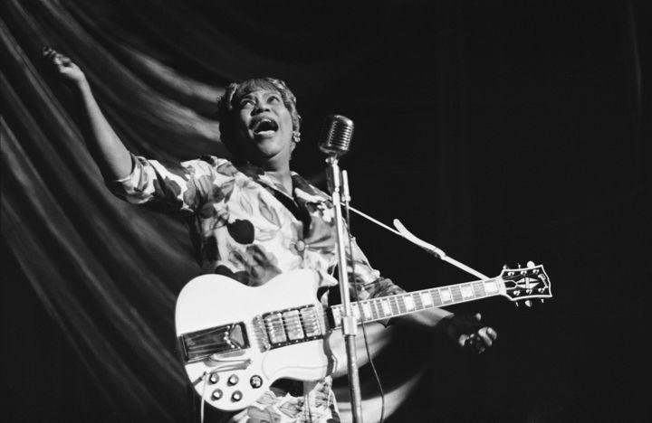 Les titres de Sister Rosetta Tharpe, la marraine du rock, seront repris par le quatuorSlam'chante, samedi. (2011 Tony Evans - Getty Images)