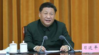 Le président chinois Xi Jinping, àFuzhou, en Chine, le 24 mars 2021. (LI GANG / XINHUA / AFP)