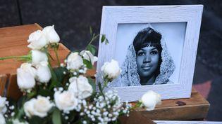 La chanteuse américaine Aretha Franklin est morte le 16 août 2018. (MARK RALSTON / AFP)