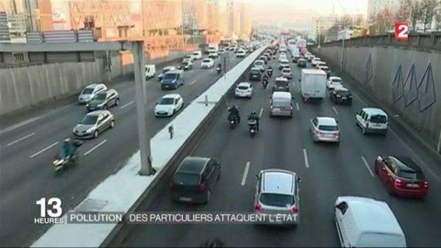 Pollution : des particuliers attaquent l'État