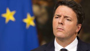 Matteo Renzi, ancien chef du gouvernement centre-gauche en Italie et favori pour reprendre le Parti démocrate, qui se réuni en congrès le 30 avril. (RICCARDO DE LUCA / MAXPPP)