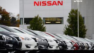 Un garage Nissan dans le Massachusetts (Etats-Unis), le 23 octobre 2014. (MAXPPP)