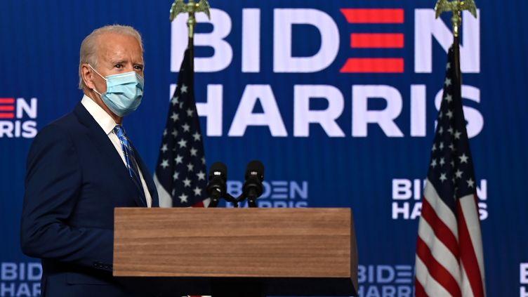 Joe Biden, le 4 novembre 2020. (JIM WATSON / AFP)