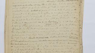 "Manuscrit original des ""75 Feuillets"" de Marcel Proust (@ FRANCESCA MANTOVANI /GALLIMARD/BNF)"
