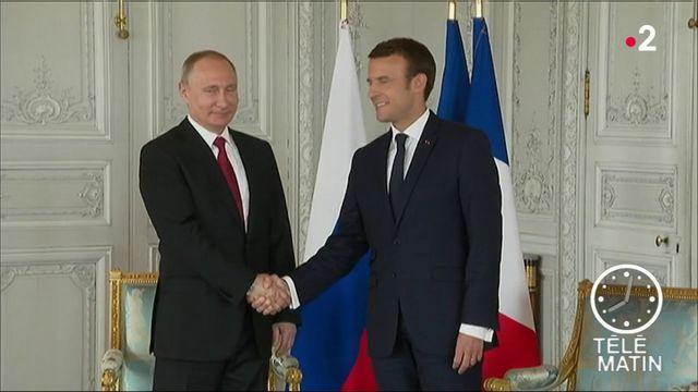 Macron-Poutine : de nombreux points de crispation