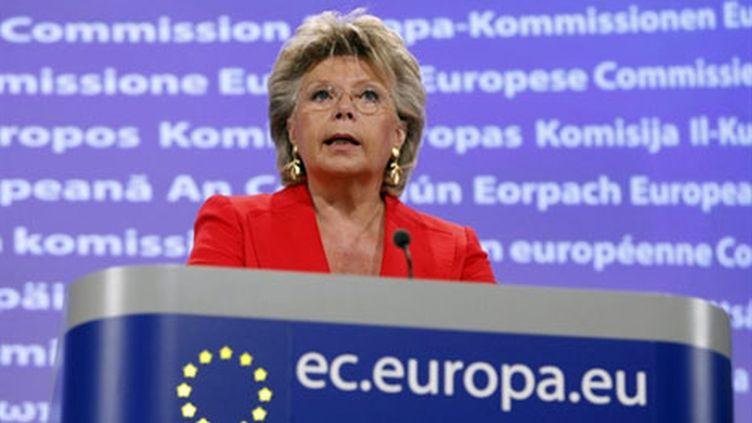 Viviane Reding, le 14 septembre. (AFP)