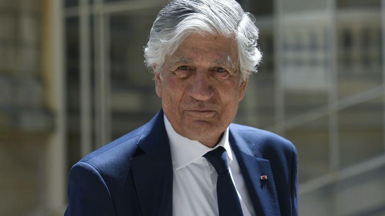 Maurice Lévy, président du conseil de surveillance du groupe Publicis et créateur de l'Escalador, le 15 mai 2019. (BERTRAND GUAY / AFP)