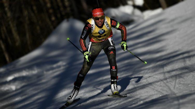 Laura Dahlmeier, double championne du monde de poursuite (ALEXEY FILIPPOV / SPUTNIK)