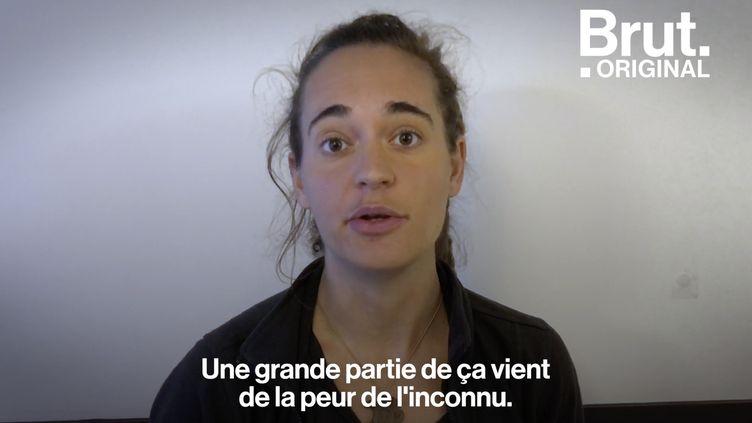 """VIDEO. """"Ils sont des personnes comme vous et moi"""" : Carola Rackete, la capitaine qui se bat pour les migrants (BRUT)"""