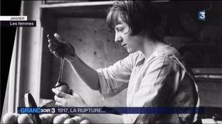 Une femme au travail en 1917 (France 3)