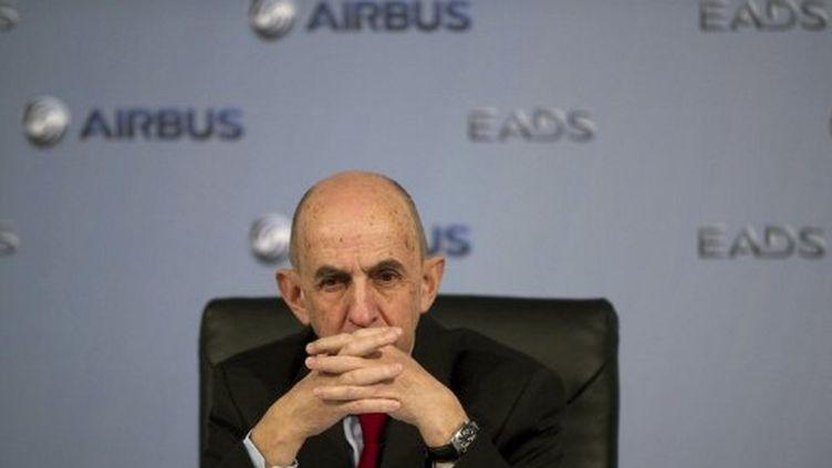 Louis Gallois (alors PDG d'EADS) (JOHANNES EISELE / AFP)
