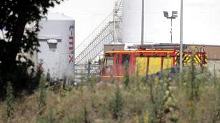 L'usine Air Products, visée par l'attentat, est un site classé Seveso. Les auteurs de l'attaque pourraient avoir eu l'intention de faire exploser ce site. (  MAXPPP)