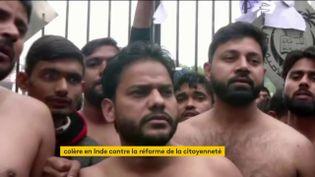 Des réfugiés musulmans en Inde (FRANCEINFO)