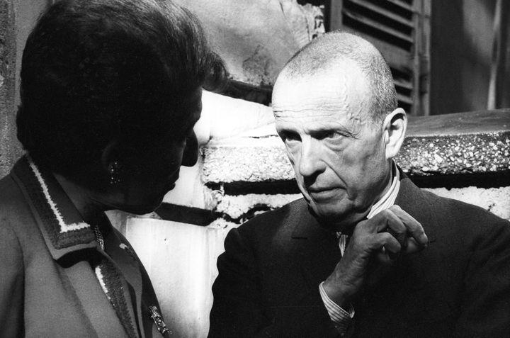 "Michel Leiris en 1966, plus de trente ans après la mission ""Dakar-Djibouti"". (MARC GARANGER / MARC GARANGER)"