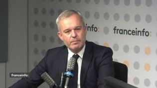 François de Rugy, député La République en marche et ancien ministre de la Transition écologiqueétait l'invité de franceinfo le 13 octobre 2021. (FRANCEINFO / RADIO FRANCE)