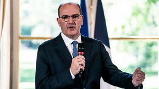 Le ministre de l'Intérieur Jean Castex à Matignon (Paris), le 30 juillet 2020. (XOS? BOUZAS / HANS LUCAS / AFP)