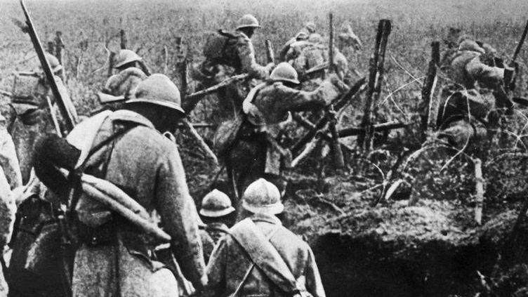 Soldats français sur le front de Verdun en 1916  (ARCHIVES / AFP)