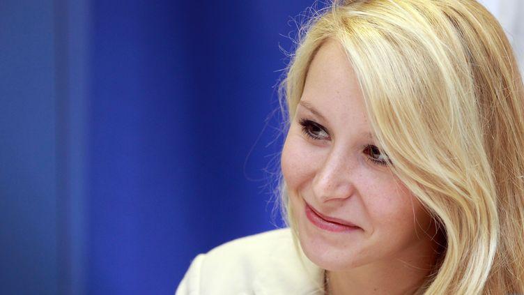 La députée FN du Vaucluse, Marion Maréchal-Le Pen, le 18 octobre 2014 au Pontet (Vaucluse). (ALAIN ROBERT / APERCU / SIPA)