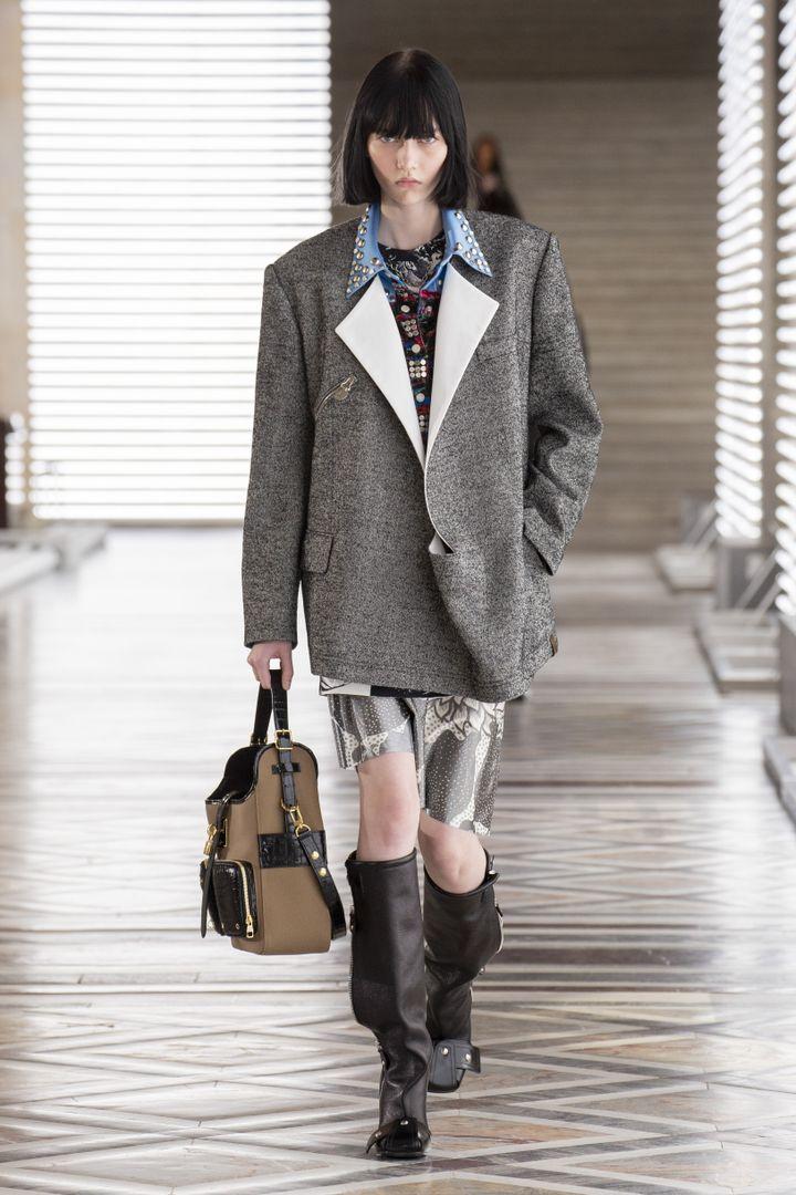 Louis Vuitton automne-hiver 2121-22 à la Paris Fashion Week, le 10 mars 2021 (GIOVANNI GIANNONI)
