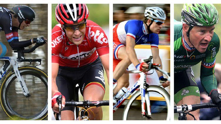 Barguil, Démare, Gallopin, Voeckler... Tous ont les moyens de briller sur ce Tour de France.