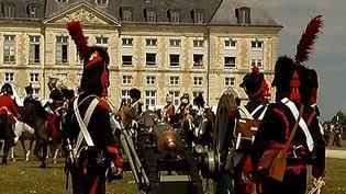 Reconstitution napoléonienne au château de Brienne  (France3/Culturebox)