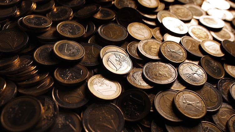 Les touristes chinois ont expliqué que les piècesN de 1 euro avaient été récupérées auprès de ferrailleurs en Chine. (TONY GENTILE / REUTERS)
