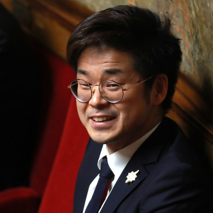 Le député Joachim Son-Forget, à l'Assemblée nationale, à Paris, le 21 février 2018. (JACQUES DEMARTHON / AFP)