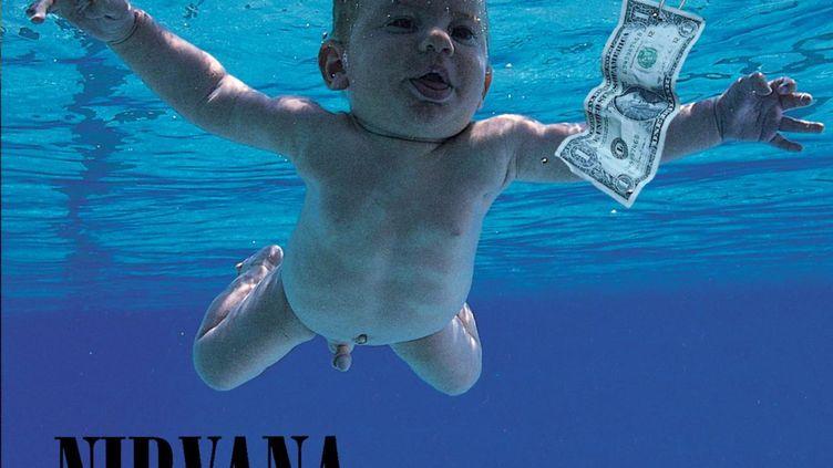 """Pochette de l'album """"Nevermind"""" du groupe Nirvana. (UNIVERSAL MUSIC GROUP)"""